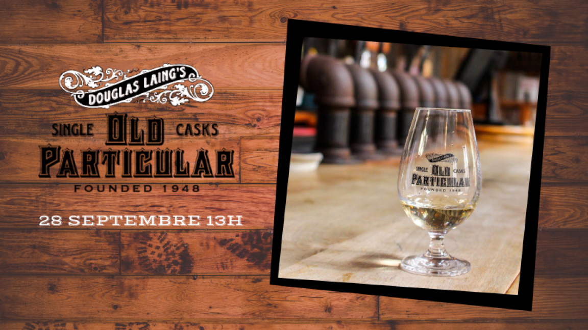 Dégustation de whiskys - Old Particular