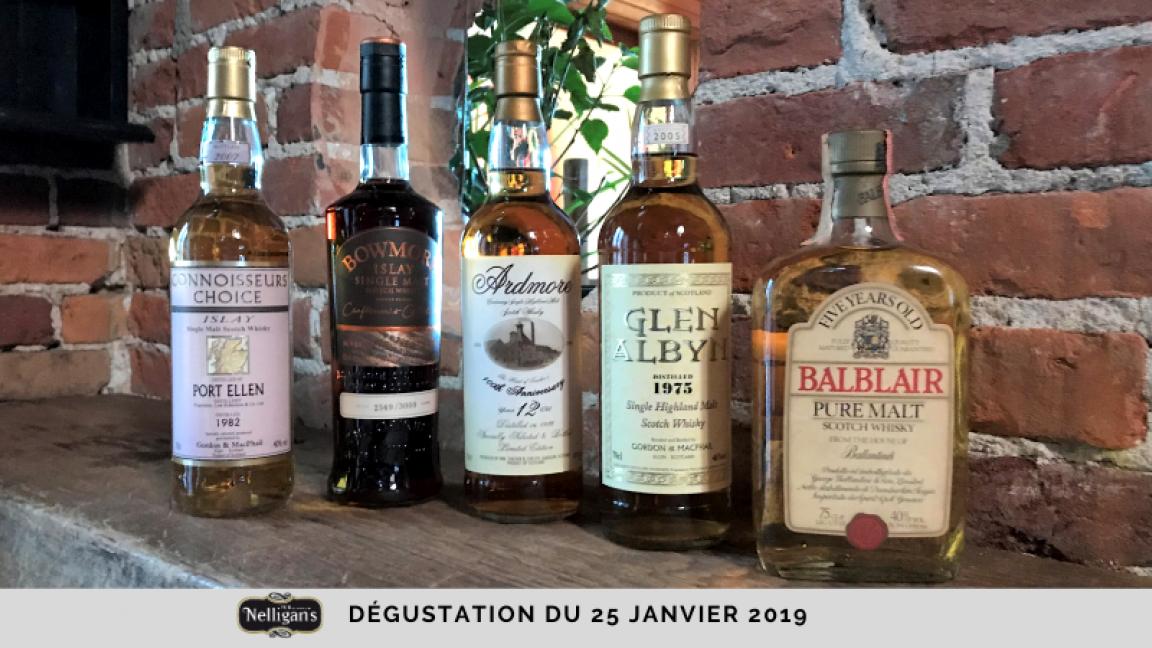 """Dégustation de whiskys """"Haut de gamme"""""""