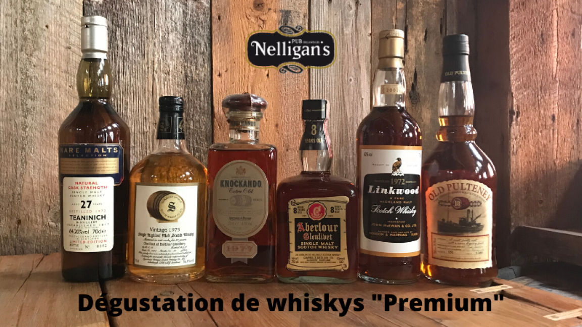"Dégustation de whiskys ""Premium"" - Part I"