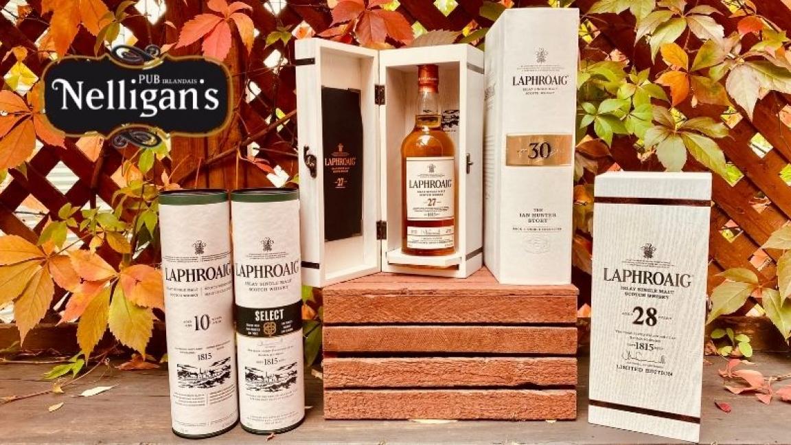 Dégustation de whiskys Laphroaig - Part I