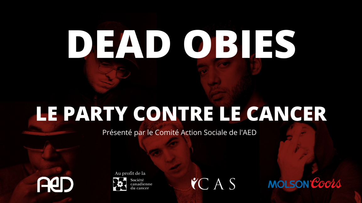 Le Party contre le Cancer - avec Dead Obies