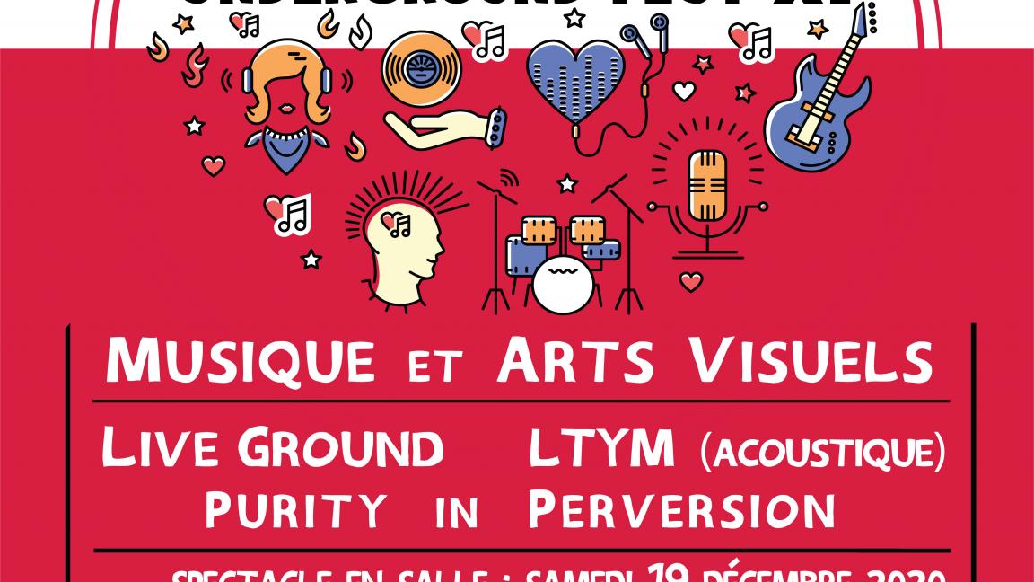 Underground Fest 2020 (Spectacle en salle)