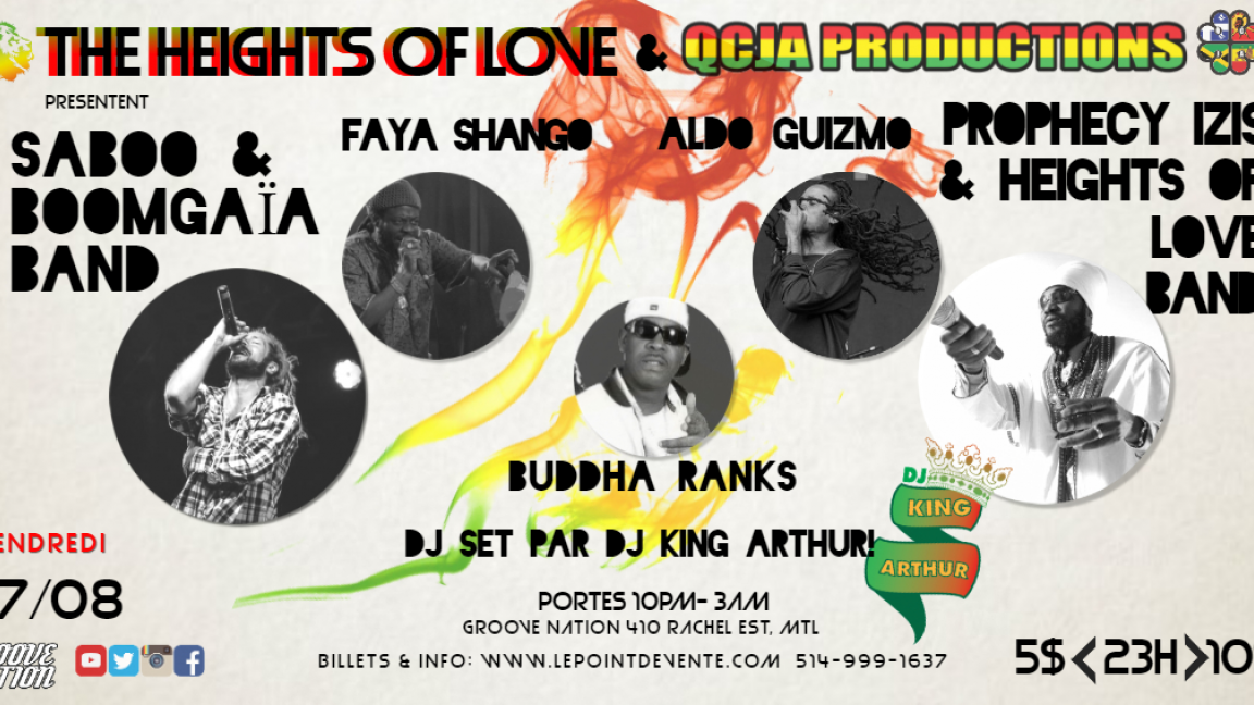 Heights of love & QCJA