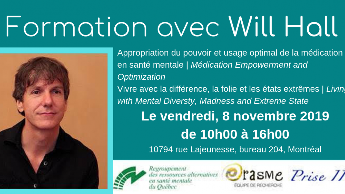 Formation avec Will Hall