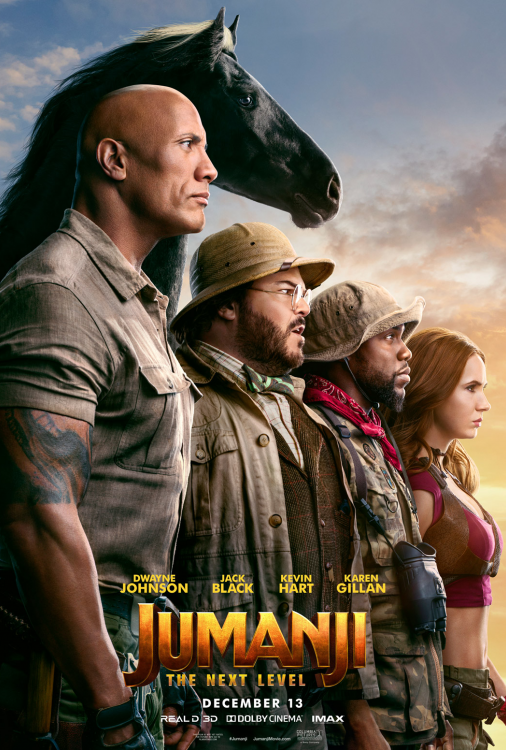 Jumanji - The Next Level V.O.A.