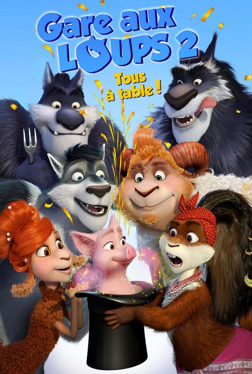 Gare aux loups 2 - Tous à table! V.F.