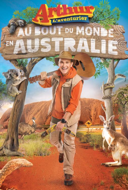 Arthur L'aventurier au bout du monde en Australie