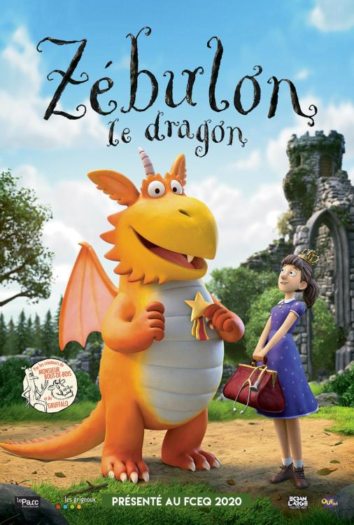 Programme Zebulon le dragon / Le rat scélérat V.F.
