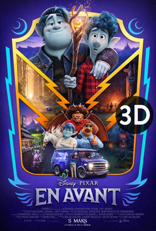 En avant 3D V.F.