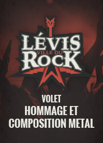 Productions Sébastien Girard présente Lévis, ville du Rock - 23 février 2018: Neverforget, Dead Citizen, Hommage à Éric Lapointe (Tattoos), Hommage à Rage Against the Machine (Renegades of Funk) – 23 février 2018 – La P'tite Grenouille Lévis, Lévis, QC