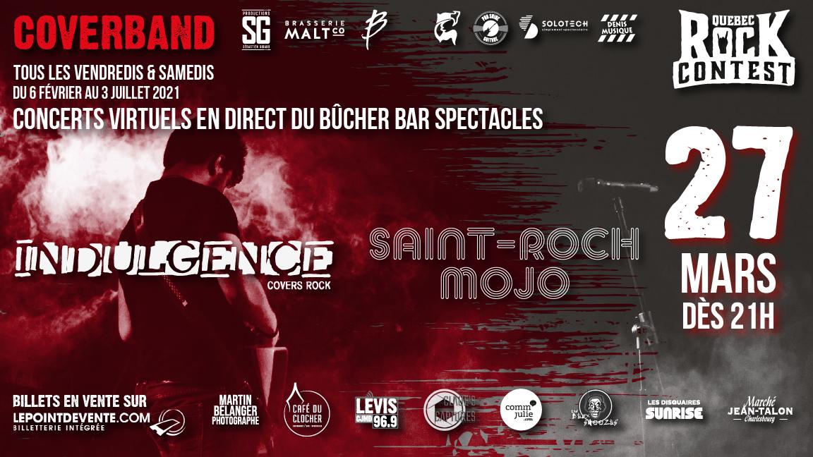 Concert virtuel : Saint-Roch Mojo & Indulgence