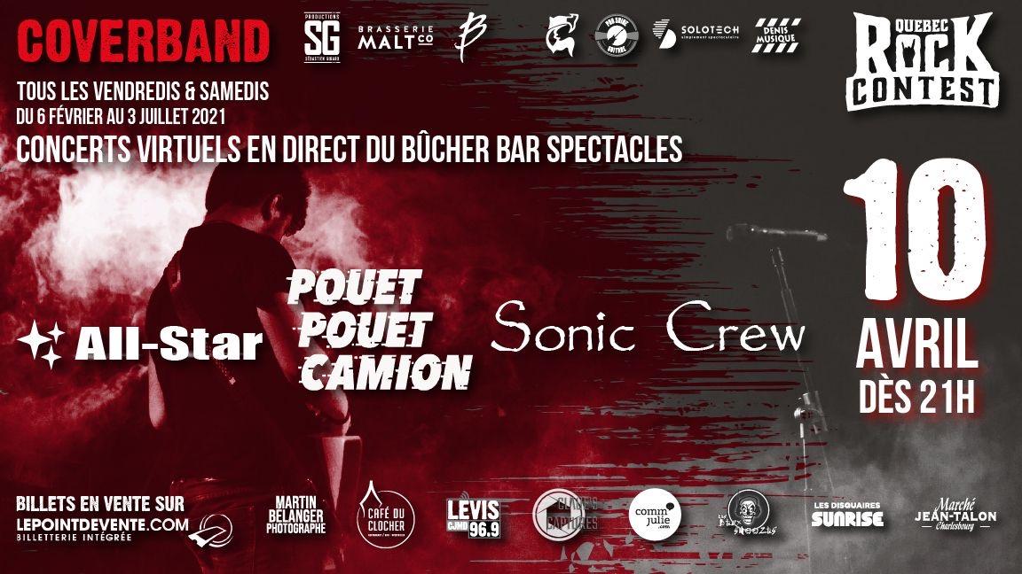 Concert virtuel : All-Star, Pouet Pouet Camion & Sonic Crew