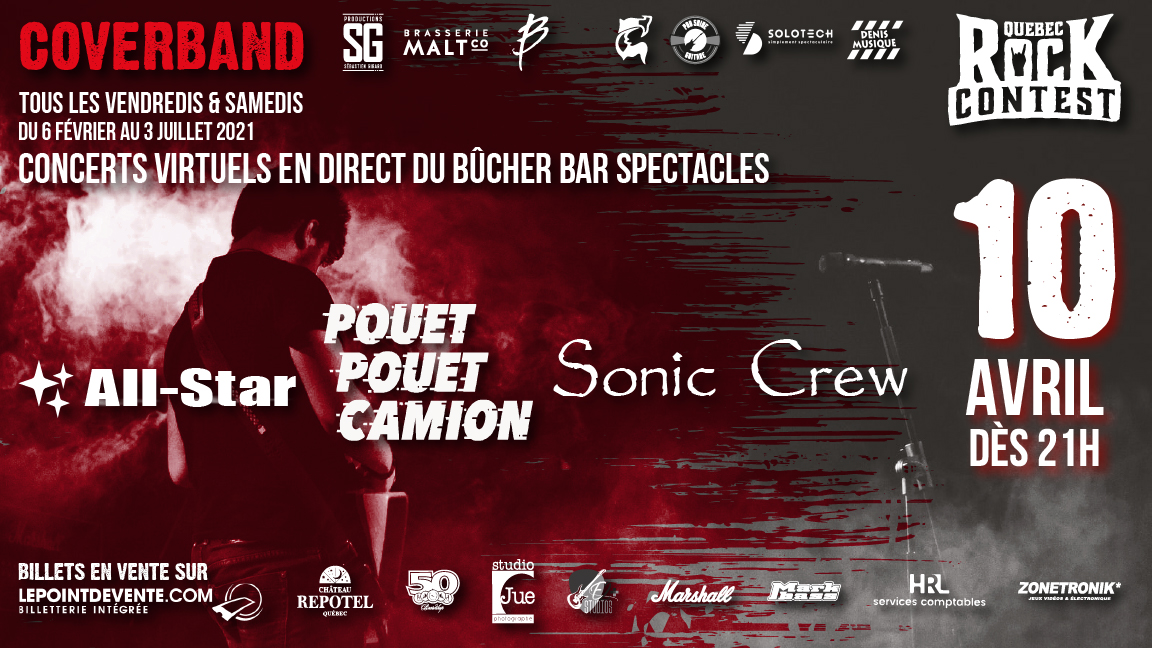 Concert virtuel : All-Star & Pouet Pouet Camion