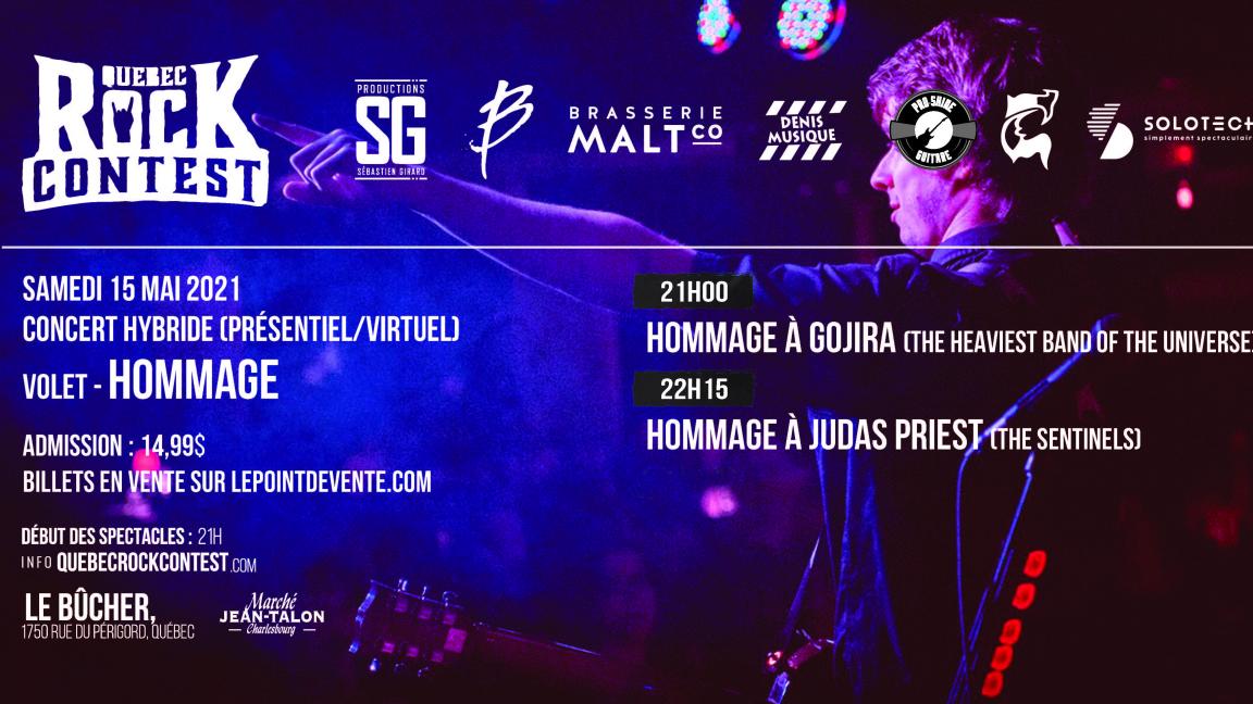 Concert virtuel : Hommage à Gojira & Hommage à Judas Priest
