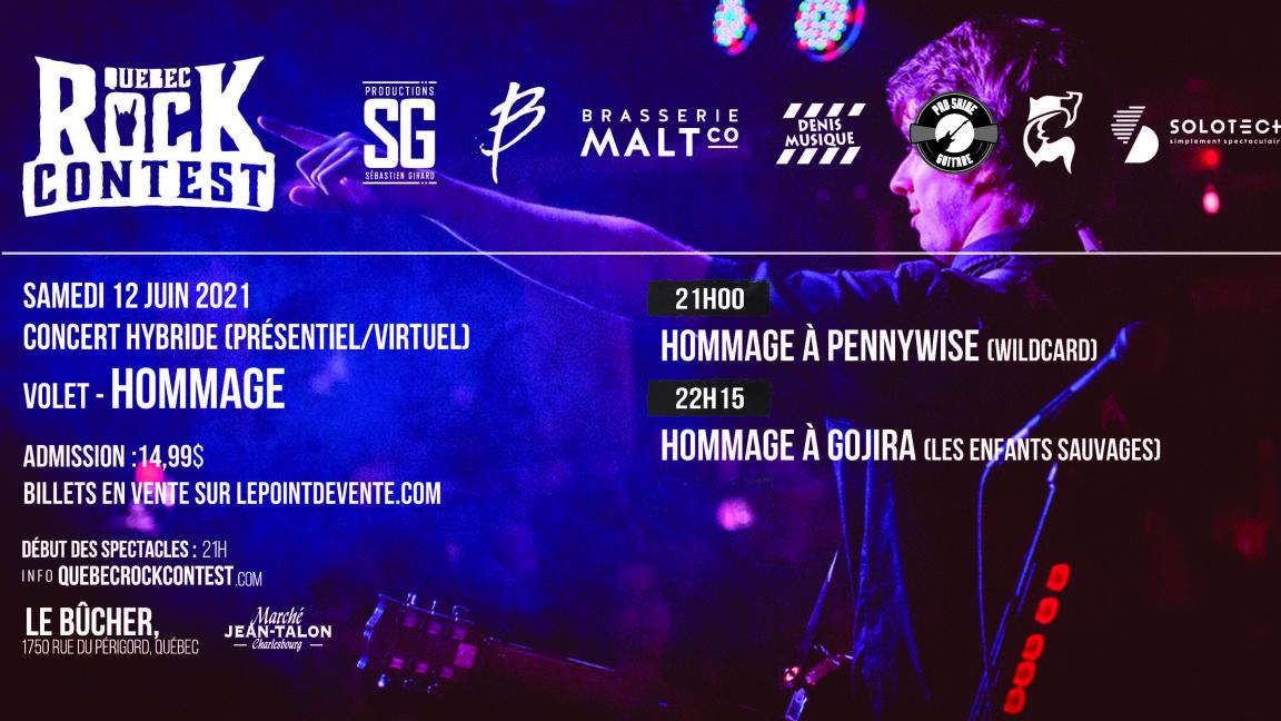 Concert en présentiel : Hommage à Pennywise & Hommage à Gojira