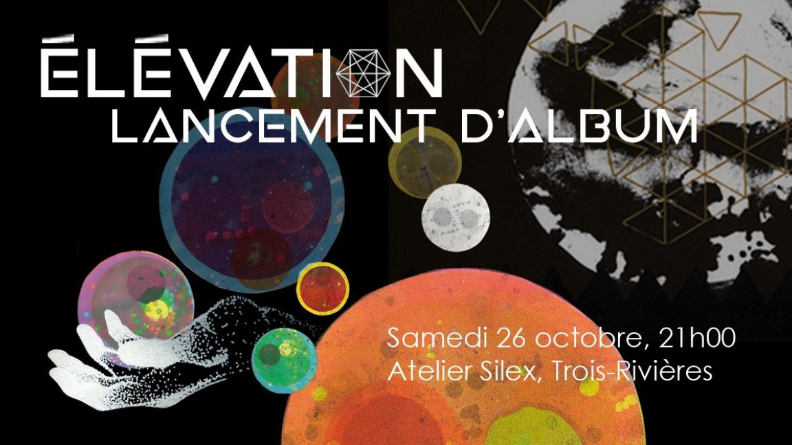 Pulsart Trio lance Élévation / 26 octobre / Atelier Silex