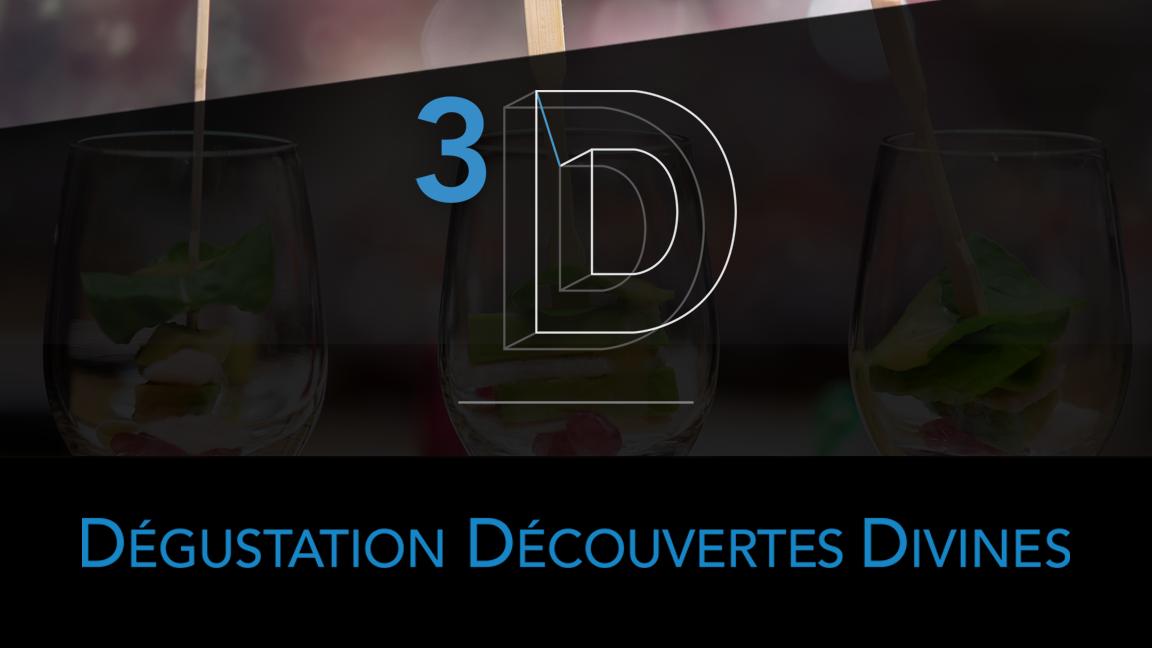 3D Dégustations Découvertes Divines