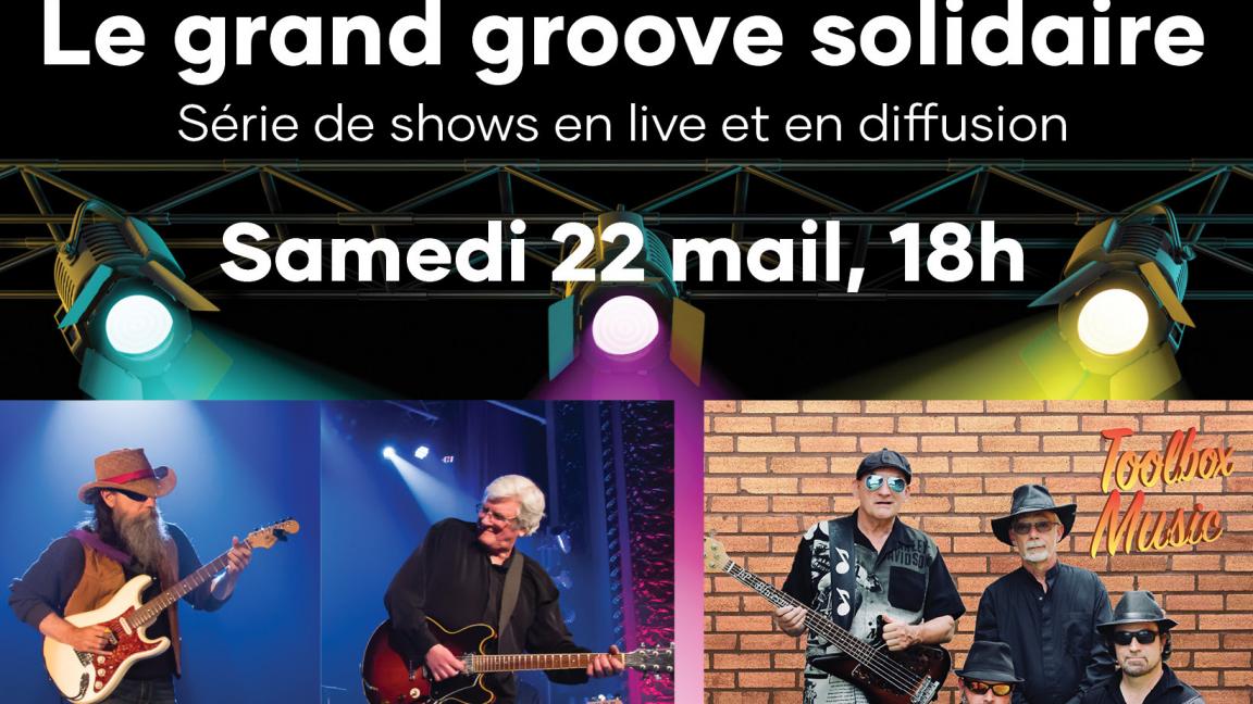 Le grand groove solidaire d'Argenteuil en Blues Partie 2 (En ligne)