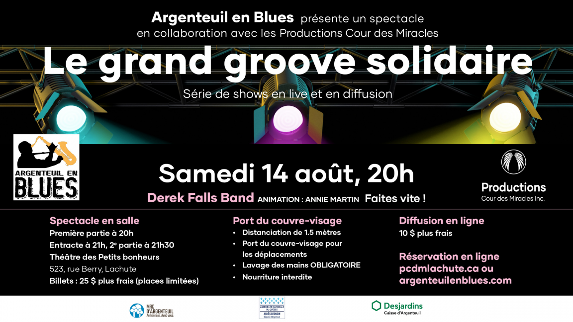 Le Grand Groove Solidaire - Streaming