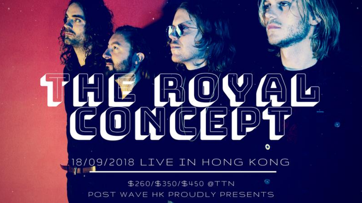 The Royal Concept Live in Hong Kong