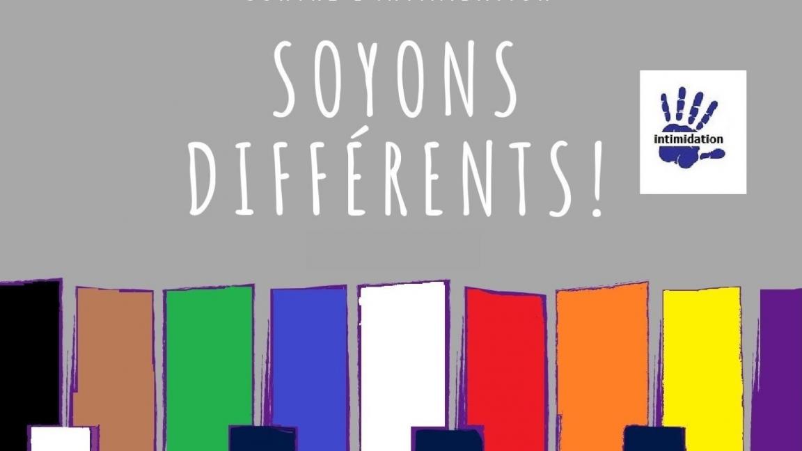 Soyons différents!