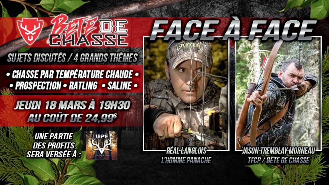 Face à Face Jason Morneau / L'Homme Panache Réal Langlois