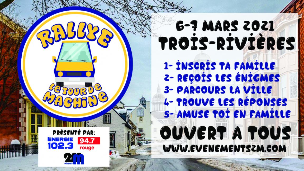 Tour de machine - Trois-Rivières
