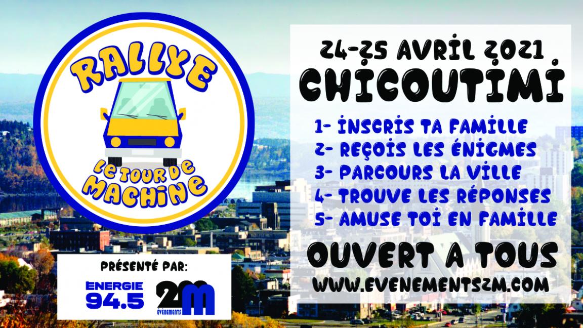 Tour de machine - Chicoutimi