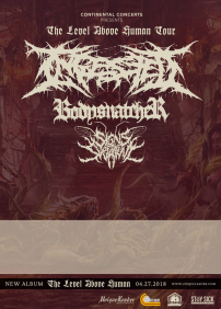 INGESTED + Bodysnatcher, Sign of the Swarm - Rimouski