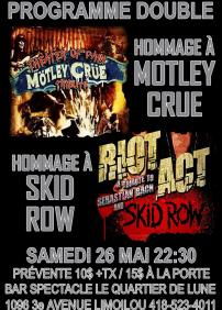 MOTLEY CRUE / SKID ROW TRIBUTE