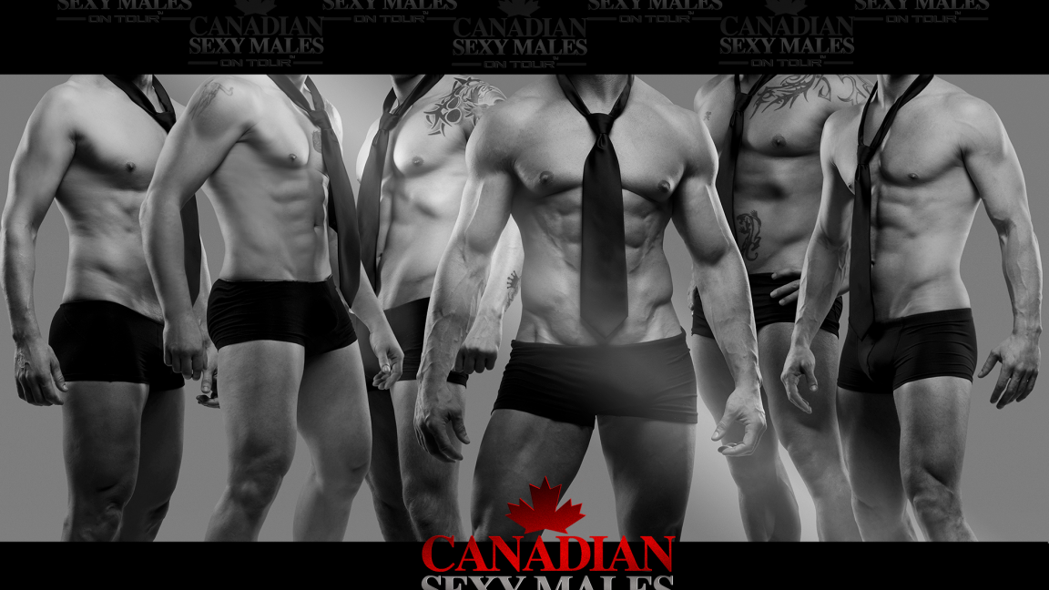 CANADIAN SEXY MALES ON TOUR