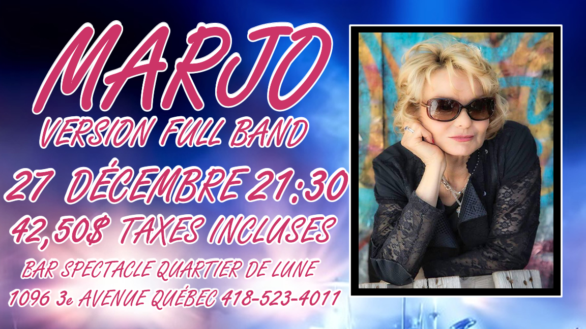 "MARJO "" FULL ELECTRIC BAND """