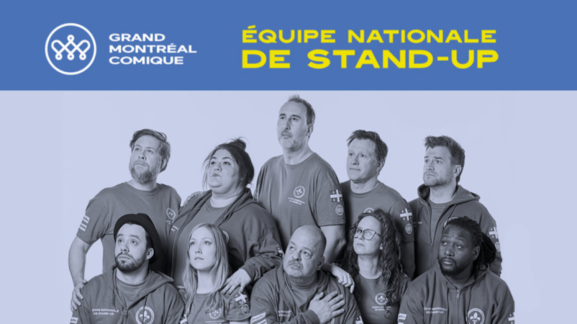 Punch & Roses recoit une partie de l'équipe nationale de stand-up
