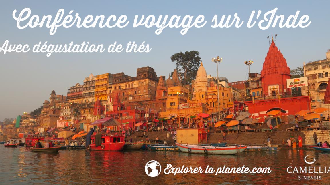 Conférence-voyage-dégustation sur l'Inde (à Québec)