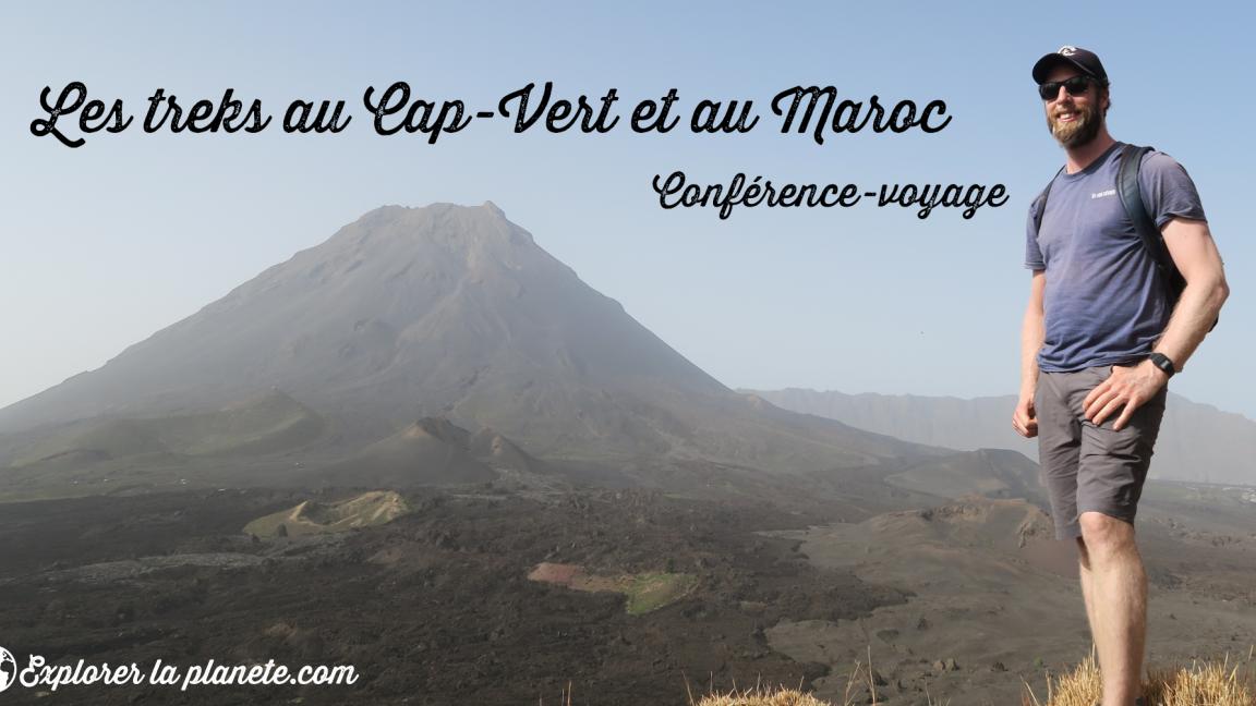Conférence-voyage sur les treks au Cap-Vert et au Maroc