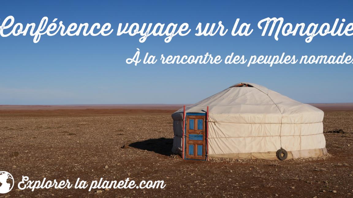 Conférence-voyage sur la Mongolie (à Berthier-sur-Mer)