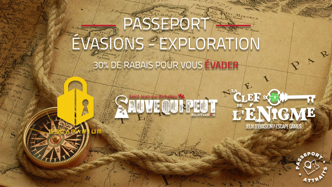 Passeport Évasion - Exploration