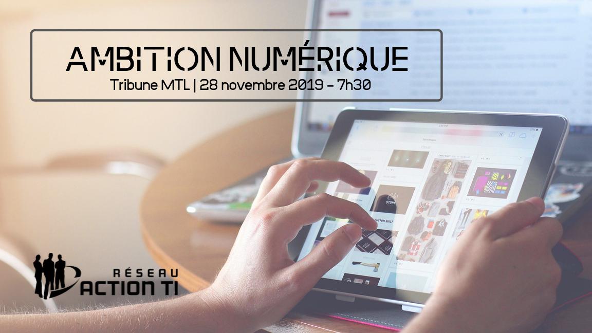 Tribune MTL - Ambition numérique