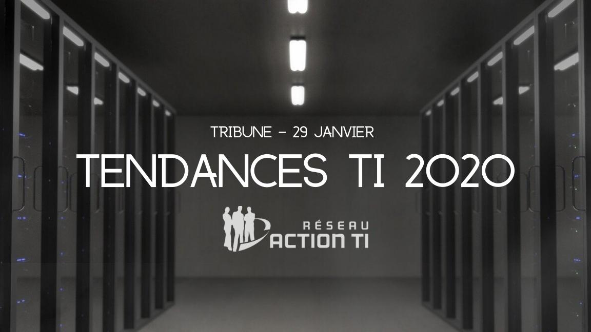 Tendances TI 2020