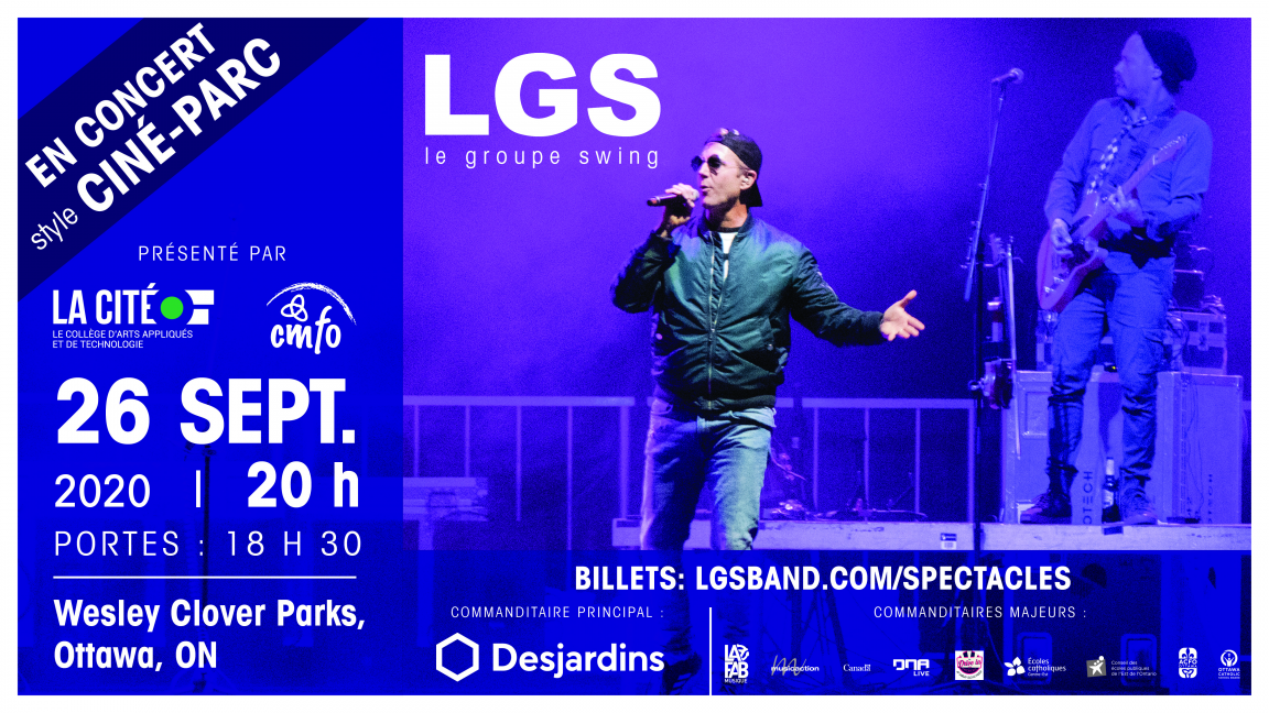 LGS live au Ciné-parc d'Ottawa