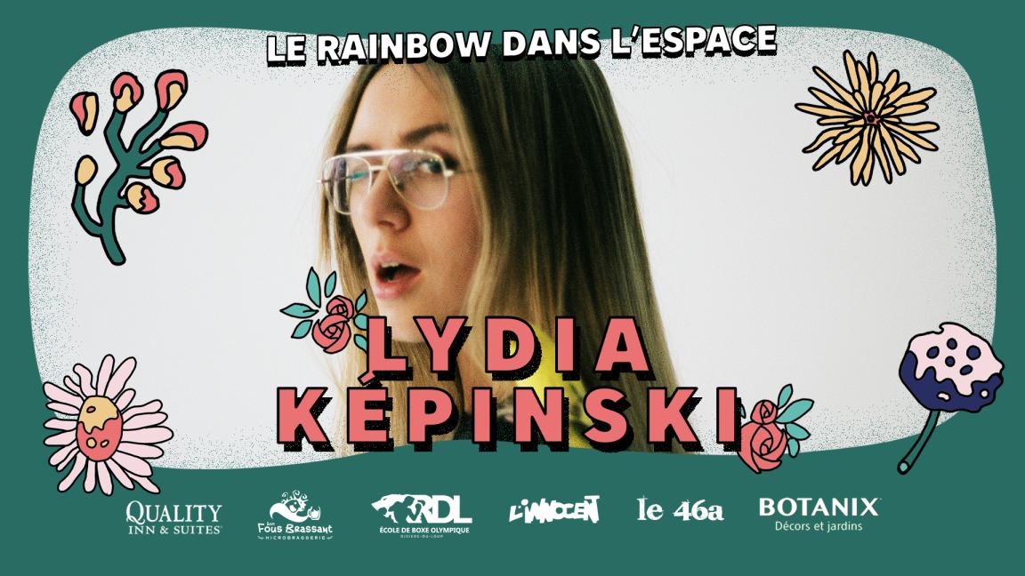 Lydia Képinski | Rainbow dans l'Espace