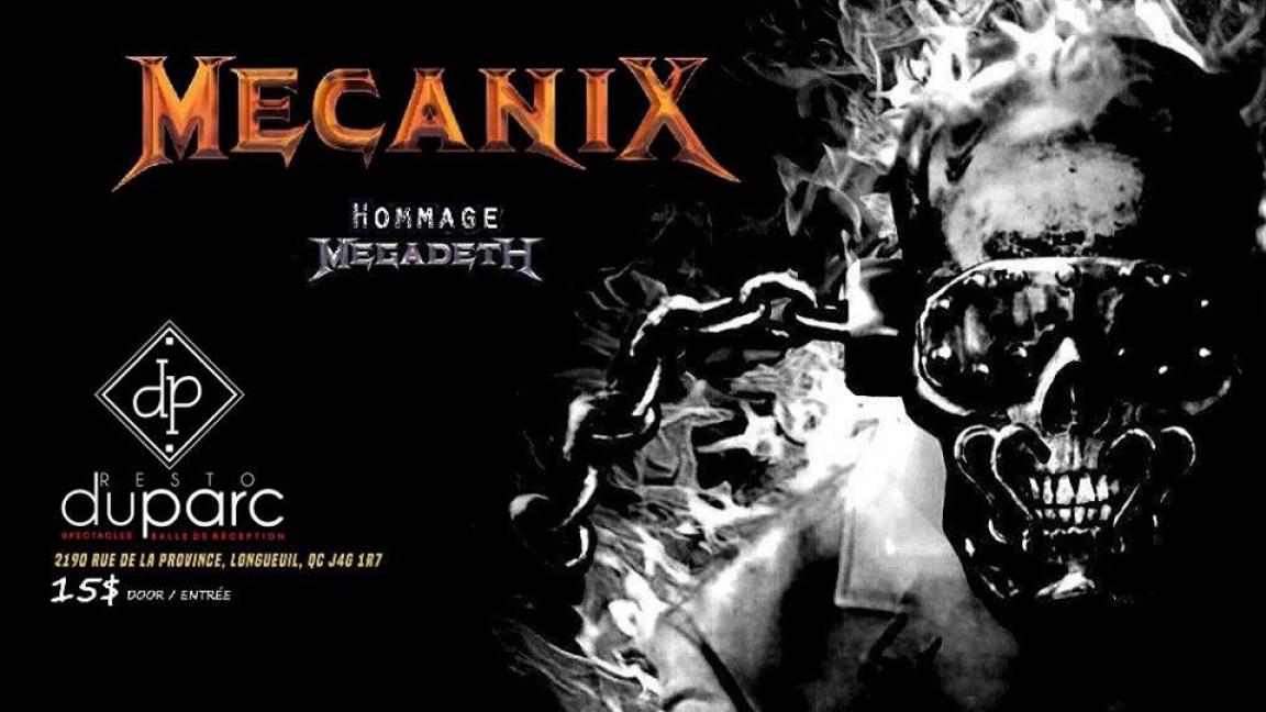MecaniX Hommage a Megadeth
