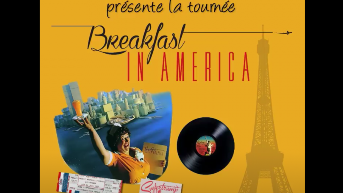 La tournée Breakfast in America