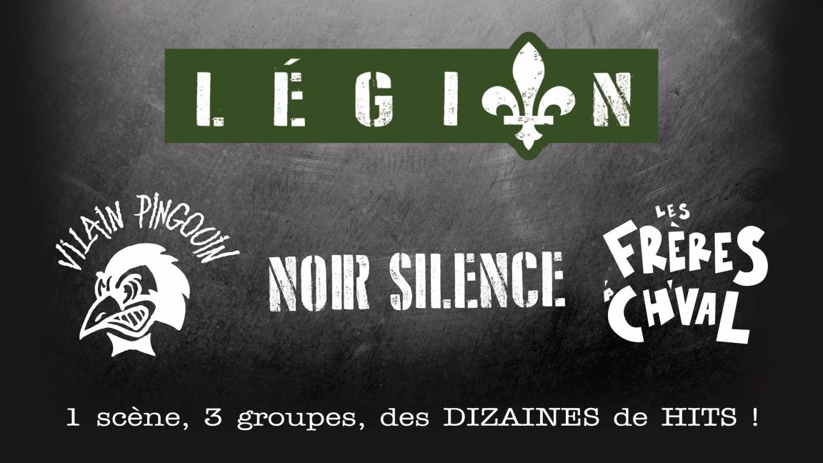 Noir silence Les frères à ch'val et Vilain Pingouin