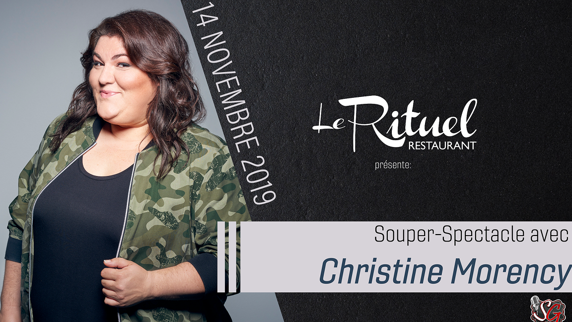 Souper/Spectacle d'humour avec Christine Morency