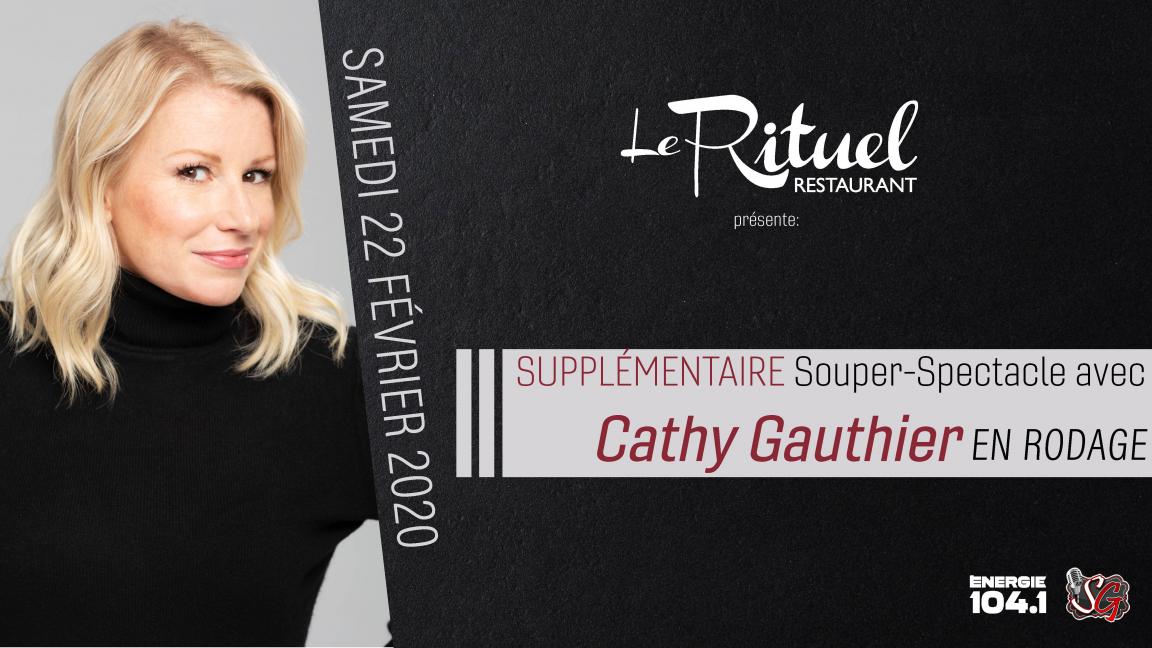 Souper/Spectacle d'humour avec Cathy Gauthier