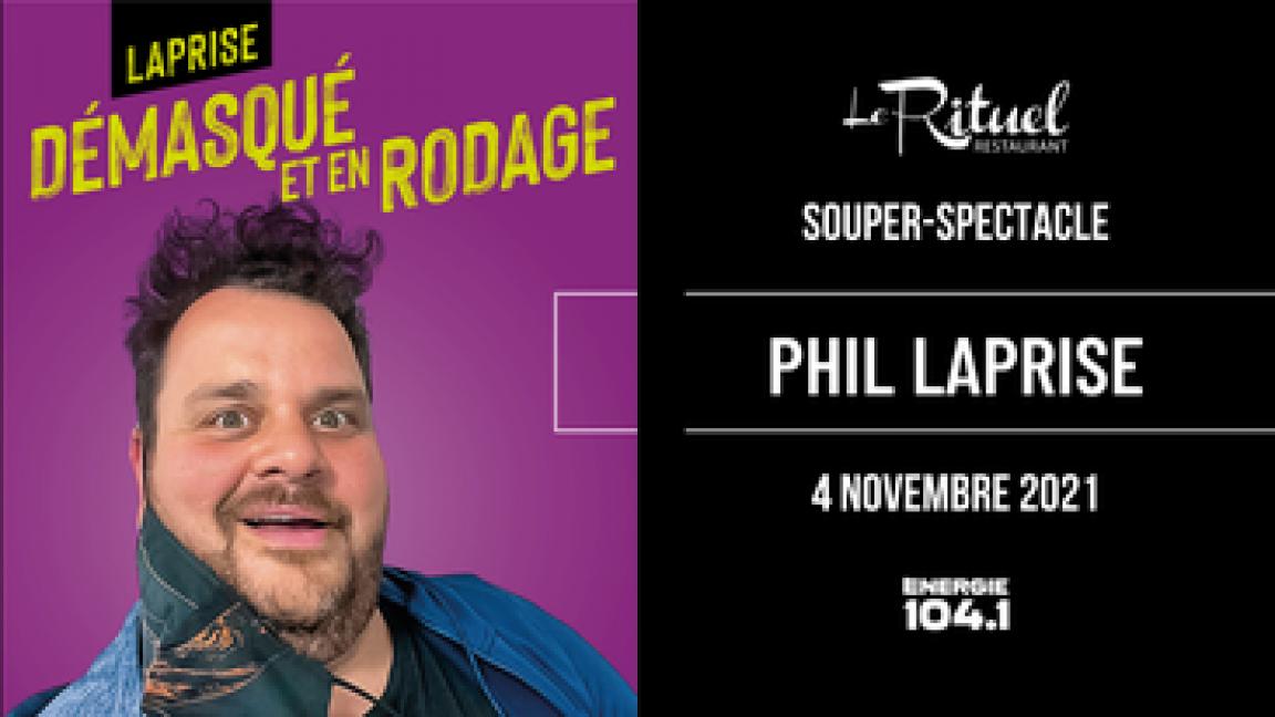 Souper-Spectacle avec Philippe Laprise