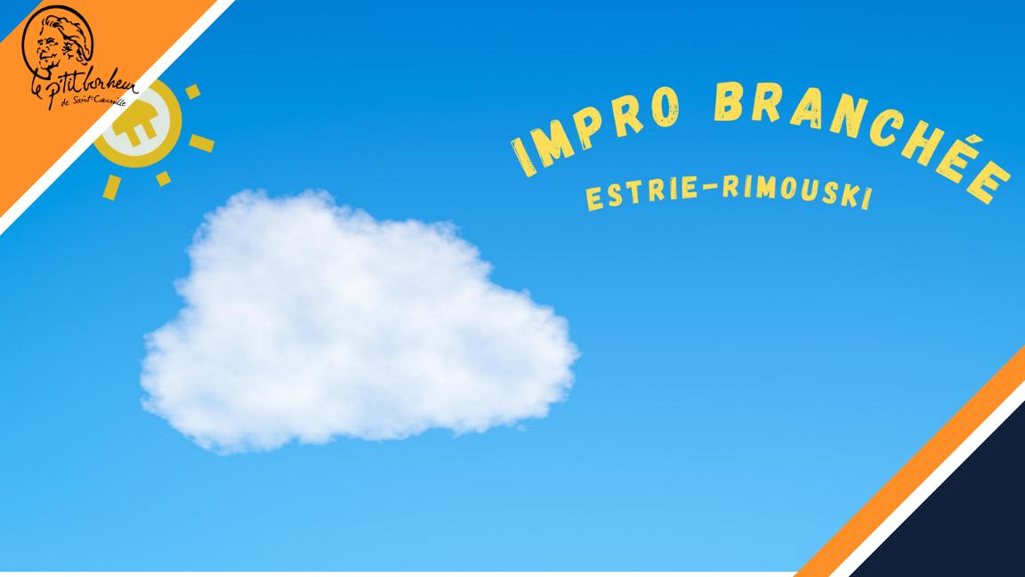 Impro branchée Estrie-Rimouski