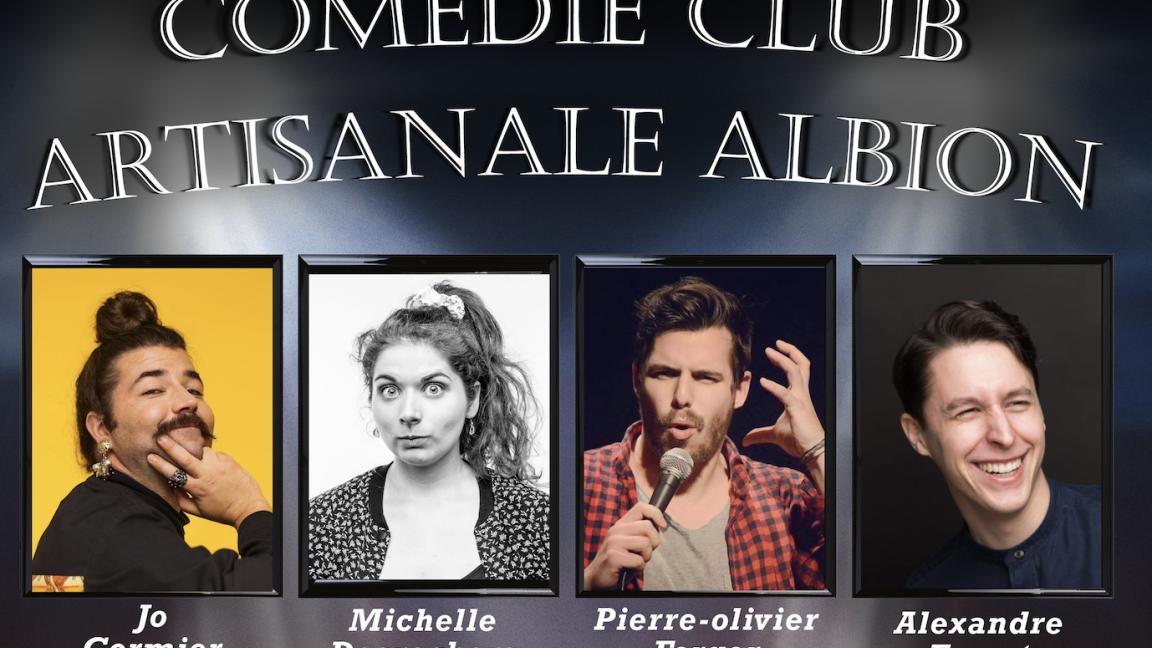 Comédie Club Artisanal Albion: Soirée d'humour
