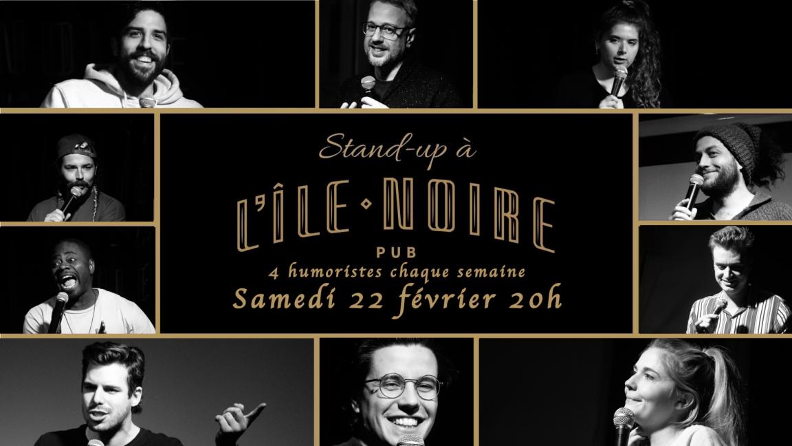 Stand-up À l'île noire! 22 février